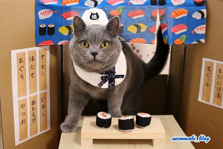 かわいいニャンコのお寿司屋さん♪~コロ助くん編~